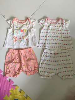 Mothercare Baby Girl Top & Bottom Set