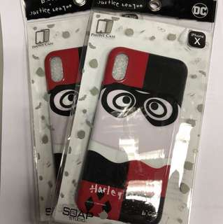 B WING JUSTICE LEAGUE IPHONE X CASE HARLEY QUINN