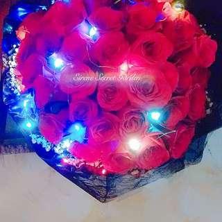Flower bouquet/hand bouquet/anniversary bouquet/birthday bouquet