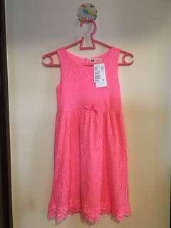 H&M女裝中童裝夏日連身裙