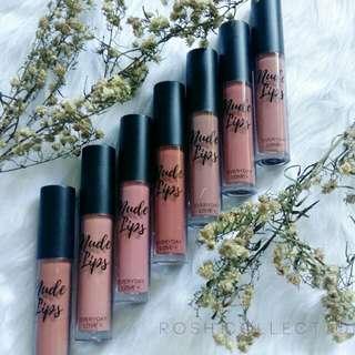 Everyday Love Nude Lips Liquid Lipsticks