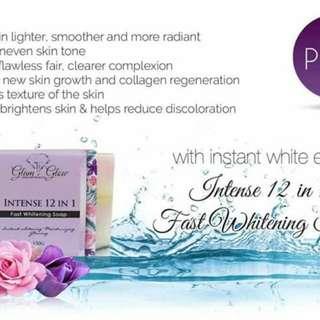 Intense 12 in 1 Fast Whitening Soap