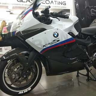 Glass Coating for Motorbikes