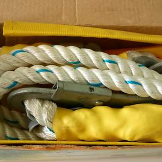 Safety belt harness (work safety)