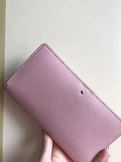 Katespade粉色wallet