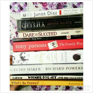 Assorted Books (3/3)