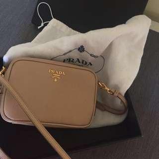 Prada Saffiano Bag w/ dust bag and authenticity cards
