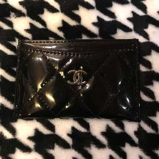 Chanel 漆皮卡片套 Card holder