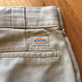Dickies 874 Khaki shorts size 32