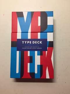 Type Deck 54 Iconic alphabet cards
