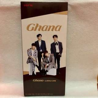 Ready Stock Ghana Chocolate Yoon Ji Sung ,Ong Seong Woo , Park Woo Jin,Kim Jae Hwan