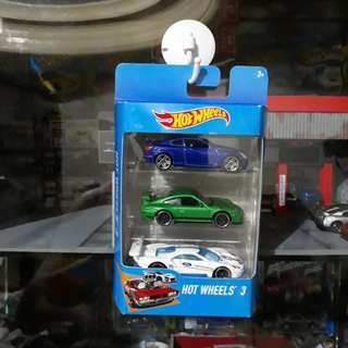 3 Pack Hotwheels