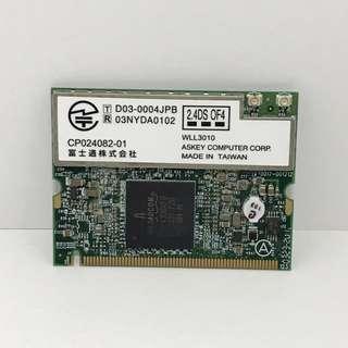 Wireless WiFi Mini PCI WLAN Card