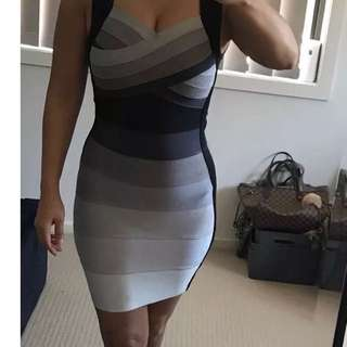 Bandage dress - Herve ledger