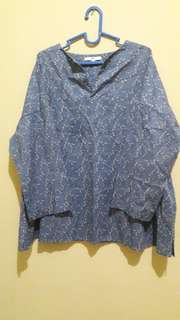 Uniqlo Batik Blouse