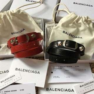 Brand New Authentic BALENCIAGA Classic Triple Tour Rouge