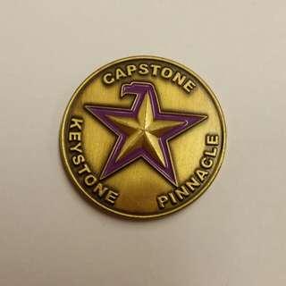 Capstone coin