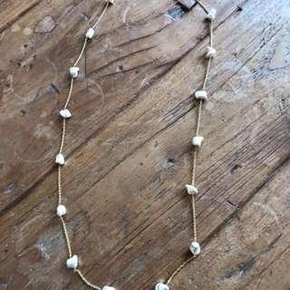 Local designer pearl necklace