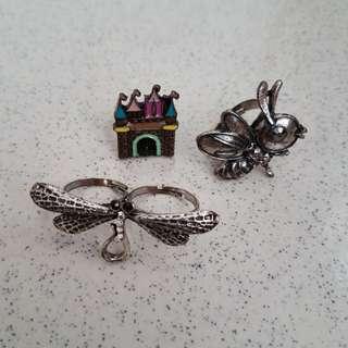 Cincin paket set ring rings