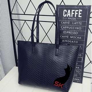 Snake Skin Design Bag XD982