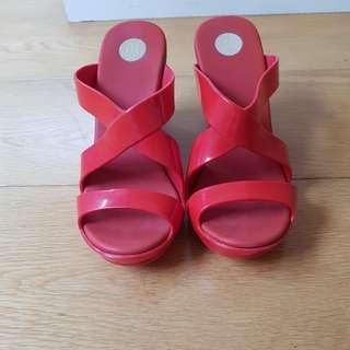 Melissa Wedge Sandals
