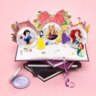 THE FACE SHOP X DISNEY PRINCESSES TONE UP CUSHION PINK SNOW WHITE
