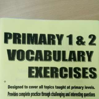 {Free NM} P1 P2 Vocabulary Practices