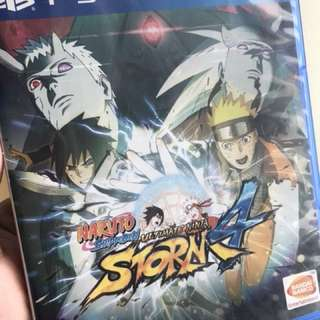 PS4 games - NARUTO SHIPPUDEN ULTIMATE NINJA STORM 4