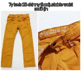 Levis 216 skinny jeans