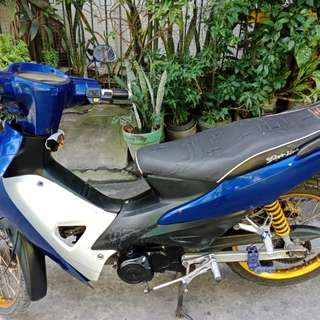 Motorcycle Racal MD100