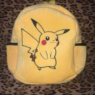 Pikachoo back pack for toddlers