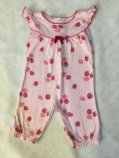 Charity Sale! Strawberry Pink Onesie Gymboree Original Size 3-6 Months