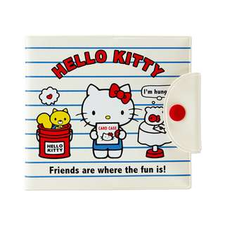 Japan Sanrio Hello Kitty Point Card Case (Border)