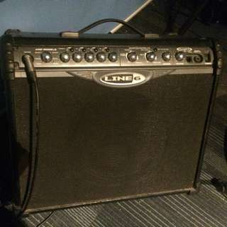 WTT Line 6 Spider II guitar amplifier with Marshall or Fender