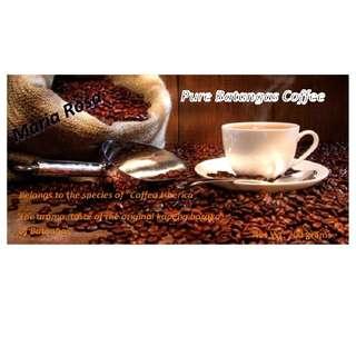 Coffee kapeng barako