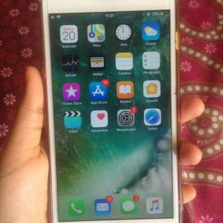 Iphone 6+ gold 64gb
