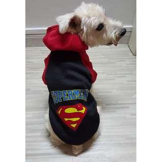 (Instock) Pet Clothes - Superman
