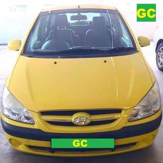 Hyundai Getz Manual CHEAPEST RENT FOR Grab/Uber