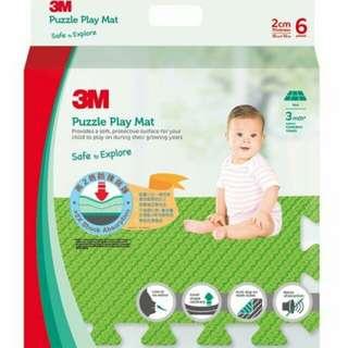 全新 3M bb 兒童最安全地墊 Puzzle Play Mat