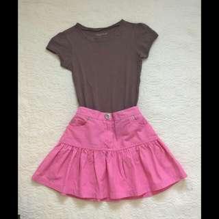 Terno T-shirt And Skirt