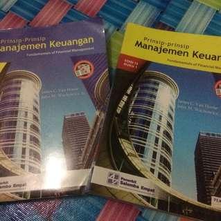 Buku Manajemen Keuangan jilid 1 dan 2