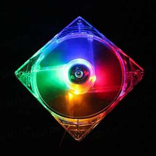 12cm 4 Colors LED Fan