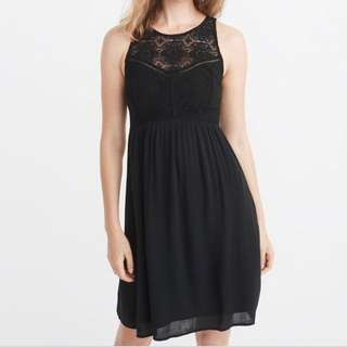A&F Black Lace Dress