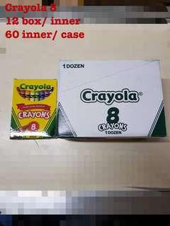 Original crayola x 8