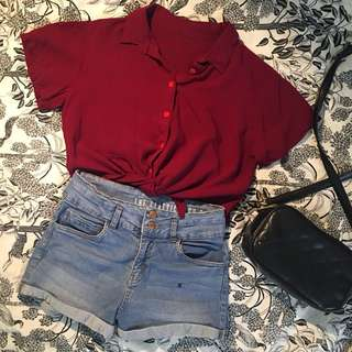Bundle Crop Top and Shorts