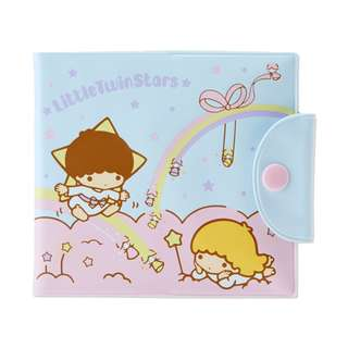 Japan Sanrio Little Twin Stars Point Card Case (Rainbow)