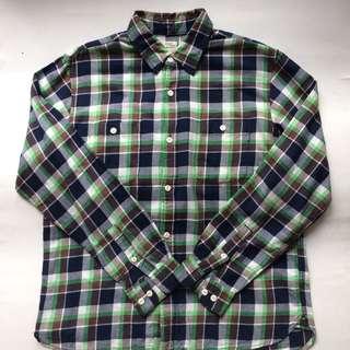 back number flannel shirt