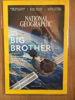 Nat geo FEB 2018 brandnew