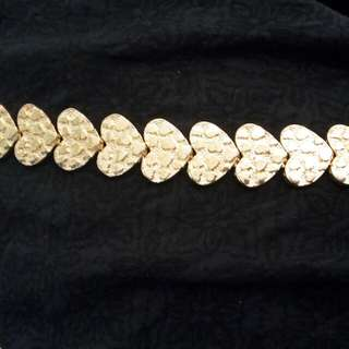 HnM gold bracelet