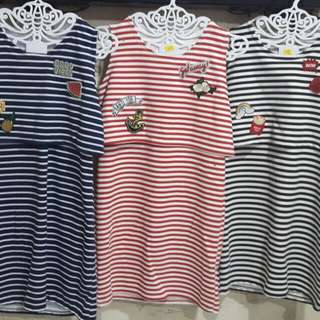 Teens Dress in Stripes